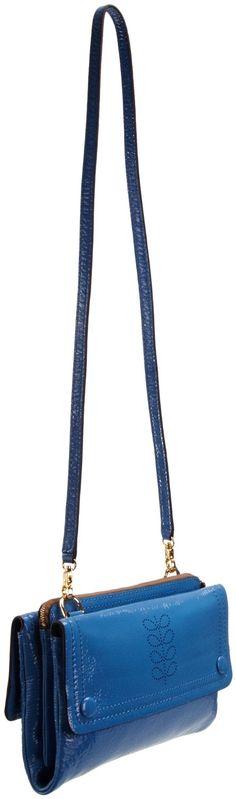 Orla Kiely Clover Cross Body Bag Sky