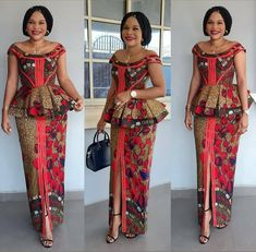 101 Latest Stylish and Creative Ankara skirt and blouse styles for wedding Guest Vol <br> Best African Dresses, Latest African Fashion Dresses, African Traditional Dresses, African Print Dresses, African Print Fashion, African Attire, Ankara Fashion, Ankara Rock, African Print Dress Designs