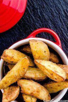 Patatas deluxe caseras - Receta paso a paso