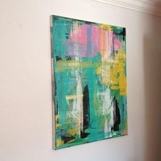 Image of Abstract Oil Painting by Savannah Artist