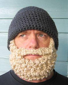 I'm totally making a beard hat!