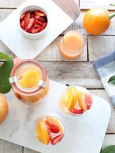 Recipes from The Nest - Grapefruit Sangria