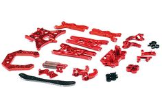 Traxxas Body Clips Pins rouge pour Ford GT Ford Mustang 4-Tec 2.0