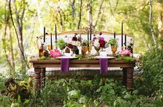 Enchanted Forest Wedding Inspiration - Design by Tino Gypsy Soul Floral and Events, photos by Perfect Wedding, Dream Wedding, Fall Wedding, Garden Wedding, Rustic Wedding, Bohemian Chic Weddings, Boho, Woodland Wedding Inspiration, Enchanted Forest Wedding
