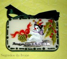 SA8- Pintura em sabonete - motivos de Natal