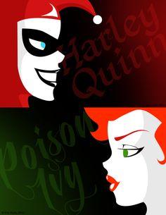 Harley Quinn & Poison Ivy