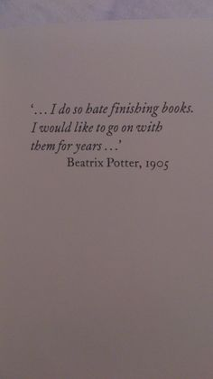 Beatrix Potter, so true with well-written books!