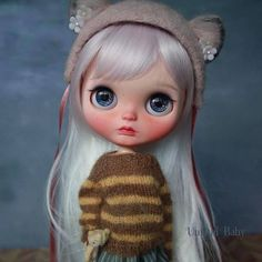Learn more about Umami Baby - the brand name of Jan Yong, a Blythe dolls customizer from Singapore. Ooak Dolls, Blythe Dolls, Art Dolls, Pretty Dolls, Beautiful Dolls, Kawaii Doll, Cyberpunk Art, Little Doll, Toys Photography