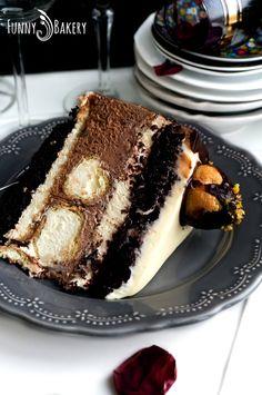 Bulgarian Desserts, Bulgarian Recipes, Baking Recipes, Cookie Recipes, Dessert Recipes, Russian Cakes, Pavlova, Cake Decorating, Food And Drink