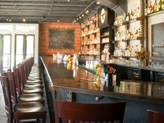 Anvil Bar & Refuge: Drink the Pliny's Tonic, or Rye or Georgia Mint Julep