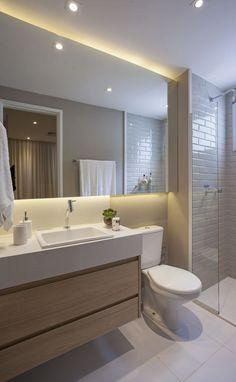 44 Bathroom Decor To Rock Your Next Home - Home Decoration - Interior Design Ideas Bathroom Interior, Modern Bathroom, Small Bathroom, Bathroom Ideas, Bathroom Layout, Bathroom Storage, Bad Inspiration, Bathroom Inspiration, Toilette Design