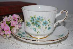 ROYAL STAFFORD Bone China Vintage Tea Cup and by HoneyandBumble, $16.00