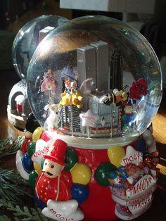 Bloomingdale's Christmas Snow Globes