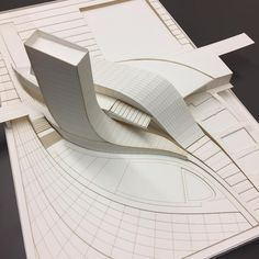 #Maquette | 5th year: Robby S. / James P. / Devin B. | (Profs: Ellinger / KCR). The School of Architecture (SoA) at UNC Charlotte