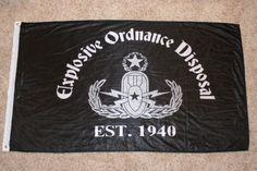 3' x 5' EOD Flag