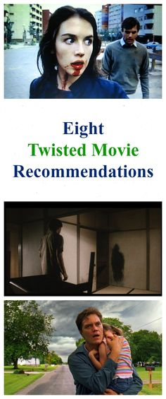 Director Norbert Keil's Eight Twisted Movie Recommendations http://www.celluloiddiaries.com/2017/04/twisted-movie-recommendations.html