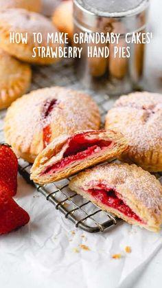 Strawberry Hand Pies, Strawberry Dessert Recipes, Marie Calendars Strawberry Pie Recipe, Best Dessert Recipes, Desserts With Strawberries, Easy Desserts, Delicious Desserts, Breakfast Recipes, Raspberry Desserts