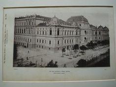 New University , Vienna, Austria, EUR, 1890, Baron Ferstel