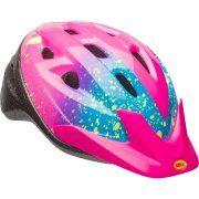 Bell Sports Rally Girls Child Helmet, Pink Splatter