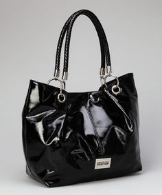 Black Woven-Handle Tote on Zulilly today!  http://www.zulily.com/invite/lfrederic788