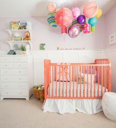 Gisele's Nursery - transitional - Nursery - Calgary - FreshHouse- love the lantern overhanging!
