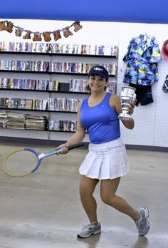 Pick a sport, any sport- Goodwill has what you need! Get sporty this Halloween with a DIY costume!