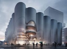 zaha hadid & mecanoo among firms honorably mentioned in munich concert hall competition | Netfloor USA