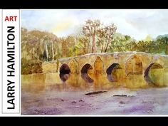 Paint Along with Larry Hamilton - July 20, 2014 - Watercolor - Goose Island - YouTube