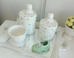kit higiene ursinho com sapatinho
