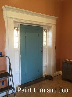 front door makeover,