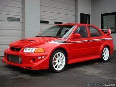 Number 2 dream car. Lancer Evolution VI TME.
