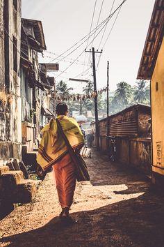 Gokarna Street by LeopArt Photography Goa India, Urban Photography, Street Photography, Amazing India, Psy Art, Visit India, India People, Indian Art Paintings, Religious Art