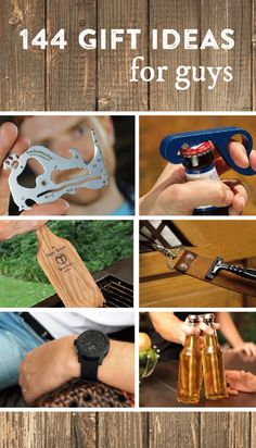 144 Unique Gifts for Him #fathersday Father's Day gifts