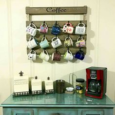 Coffee cup holder available in 10 colors!