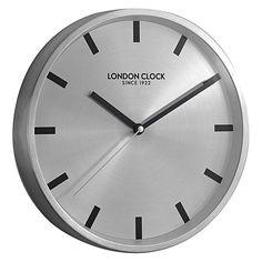Sleek Wall Clock, 25cm by London Clock Company | Zanui ($50)