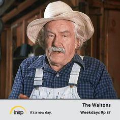 Love Will Geer as Grandpa in The Waltons!!
