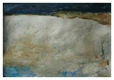White Cliffs of Dover, Mischtechnik, 30x40 cm