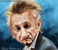 Sean Penn by Luuk Poorthuis