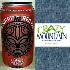 #388 BOOHAI RED ALE • Crazy Mountain Brewing • Edwards, CO • ☆☆☆☆