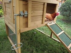 Installez un #poulailler chez vous pour des œufs bio et frais tous les jours! #outdoor