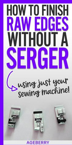 Serger Sewing, Sewing Stitches, Sewing Tools, Sewing Patterns, Sewing Machine Presser Foot, Sewing Art, Clothes Patterns, Dress Patterns, Sewing Crafts