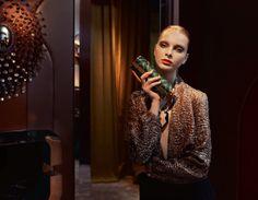 Dasha Goldina by Stefania Paparelli for Madame Air France December/January 2013/2014
