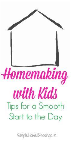 Homemaking Tips for