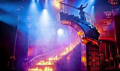 'Rebecca' the Musical - I don't know the show or the story but - WOW!!! - look at this set!!!