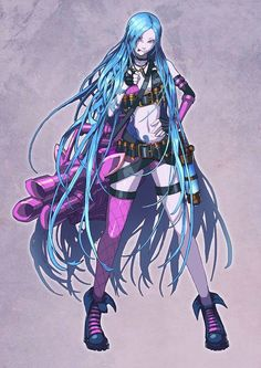 Jinx with her hair down <3