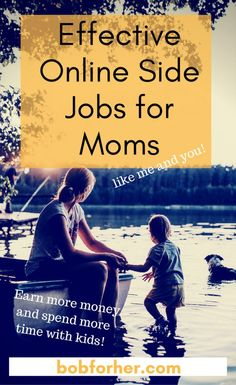 I chose to create this list of my most effective online side jobs for moms like me and, ideally, I can influence you to start your very own. Online Side Jobs, Online Jobs For Moms, Earn More Money, Make Money Blogging, Make Money Online, Saving Money, Work From Home Moms, Make Money From Home, How To Make Money