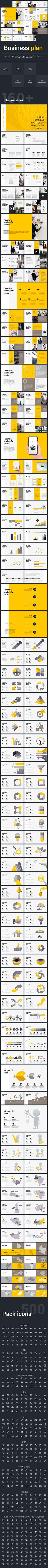 Business Plan Google Slide Template - Google Slides Presentation Templates