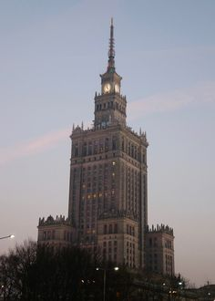 Palace of Culture and Science, Warsaw. Poland Culture, Travel Tips For Europe, Travel Ideas, Travel Inspiration, Travel Destinations, Visit Poland, Europe Continent, Poland Travel, Warsaw Poland