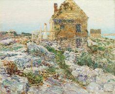 Childe Hassam | The Norwegian Cottage, 1909