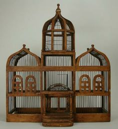 , The bird cage is equally a property for the birds and a pretty tool. You are able to choose what you may need one of the bird cage versions and get a whole lot more unique images. Vintage Birds, Vintage Wood, Vintage Birdcage, Birdcage Decor, Stair Dimensions, Antique Bird Cages, Metal Birds, Wood And Metal, Beautiful Birds
